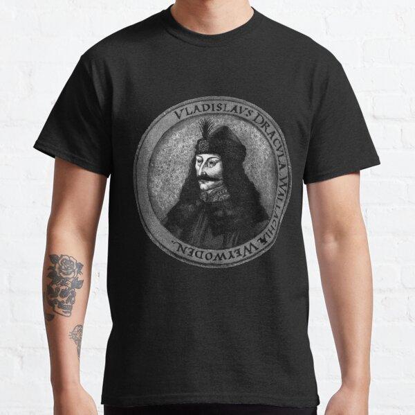 Vlad Dracula Tepes The Impaler Vampire Classic T-Shirt