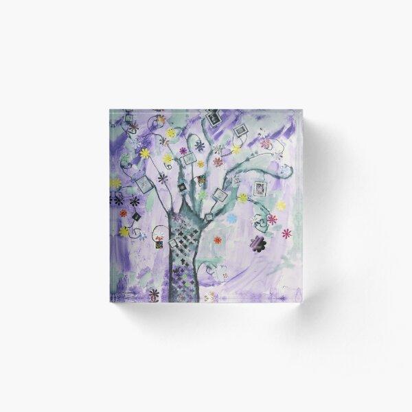 Tree of Fantasy Acrylic Block