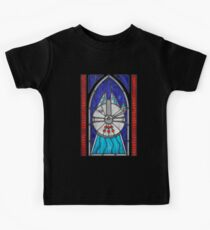 Stained Glass Series - Falcon Kids Tee
