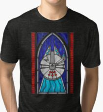 Stained Glass Series - Falcon Tri-blend T-Shirt