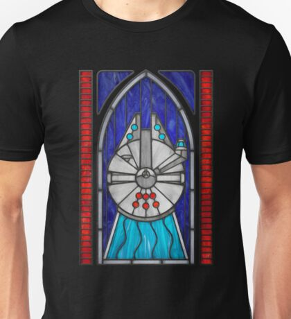 Stained Glass Series - Falcon T-Shirt