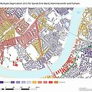 Multiple Deprivation Sands End ward, Hammersmith & Fulham by ianturton