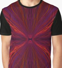 Red light trails pattern Graphic T-Shirt