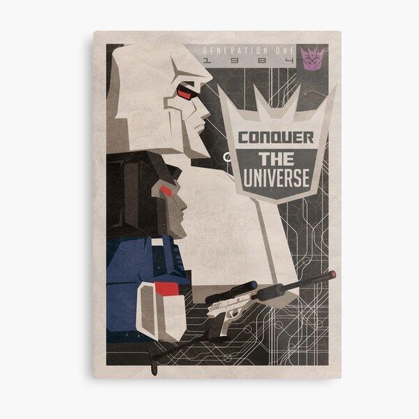 Conqure Metal Print