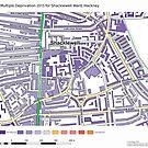 Multiple Deprivation Shacklewell ward, Hackney by ianturton
