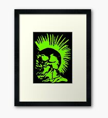 Skull Punk Framed Print