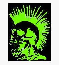 Skull Punk Photographic Print