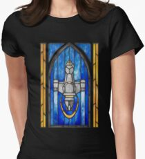 Stained Glass Series - Serenity Women's Fitted T-Shirt