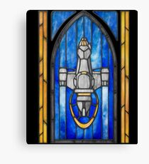 Stained Glass Series - Serenity Canvas Print