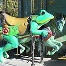 Carousel Frog by Christine Ford