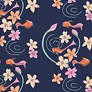 Sakura Pond by marmalademoon