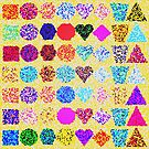 Pattern of Shapes by storecee