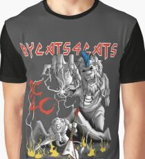 ByCats4Cats Metal Logo Graphic T-Shirt