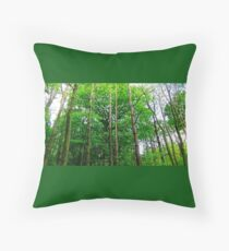 English Woodlands Throw Pillow
