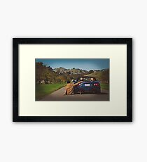 His Miata Framed Print