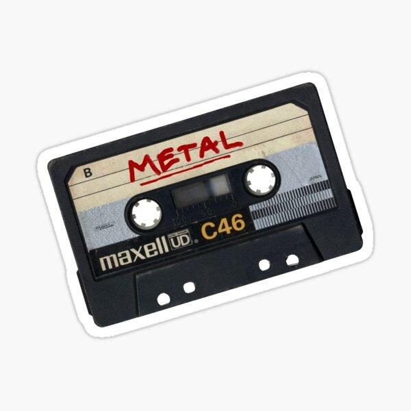 Cinta de mezcla de metal Pegatina