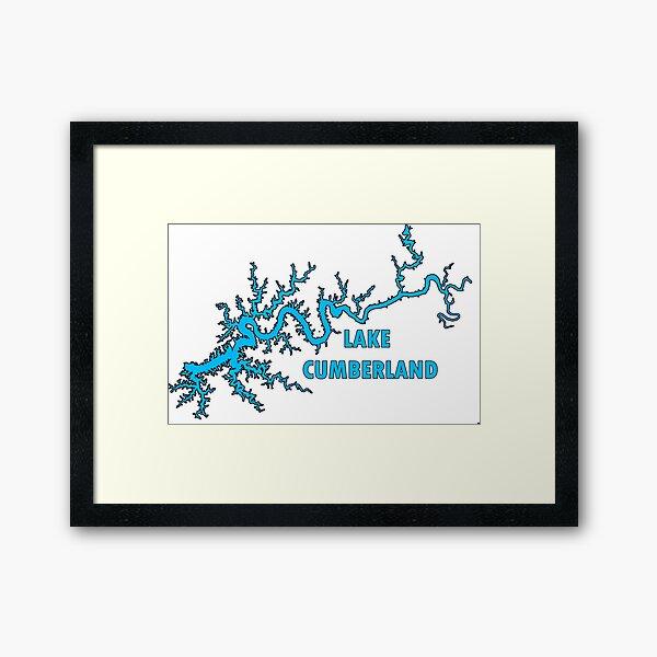 Lake Cumberland Kentucky Framed Art Print