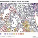 Multiple Deprivation South Camberwell ward, Southwark by ianturton