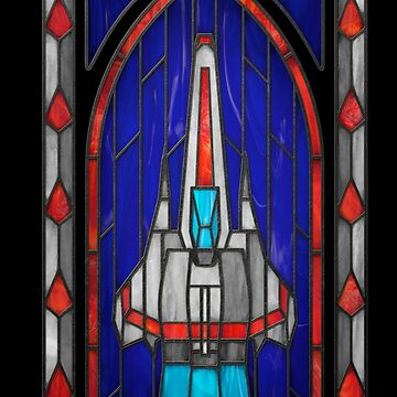 Stained Glass Series - Viper by ianleino