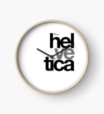 Hel ve tica (b) .... Clock