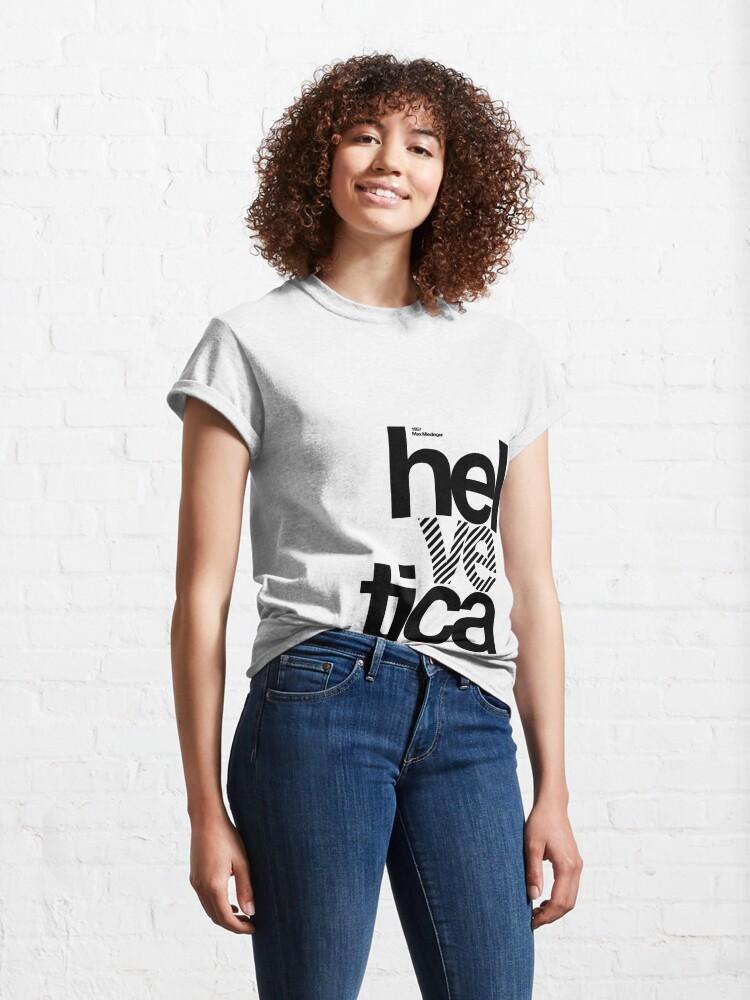 Alternate view of Hel ve tica (b) .... Classic T-Shirt