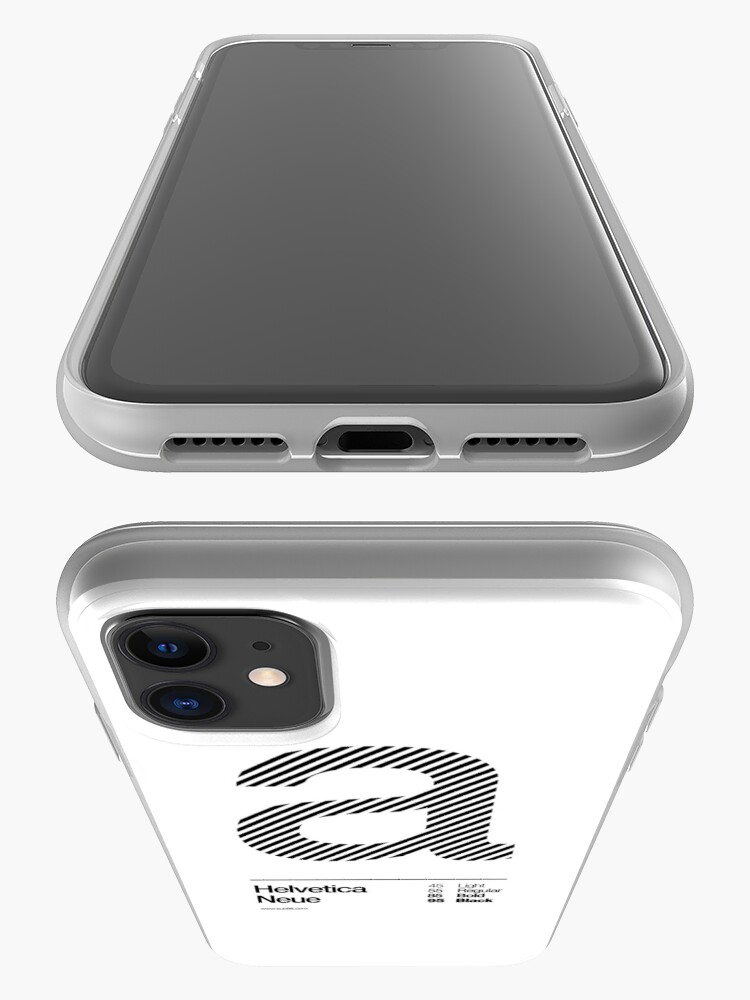 Alternate view of a .... Helvetica Neue (b) iPhone Case & Cover