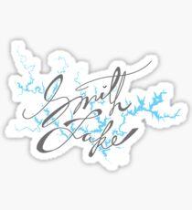 Smith Lake Alabama Sticker