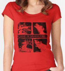 Game of Marauders Women's Fitted Scoop T-Shirt