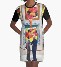 A Question of Candy Graphic T-Shirt Dress