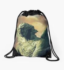 Atmospheric Angel Drawstring Bag