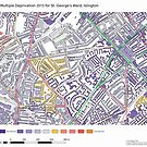 Multiple Deprivation St George's ward, Islington by ianturton