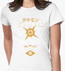 Sun Trainer Womens Fitted T-Shirt