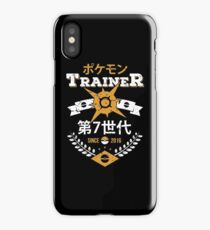 Sun Trainer iPhone Case/Skin