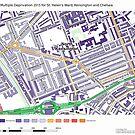 Multiple Deprivation St Helen's ward, Kensington & Chelsea by ianturton