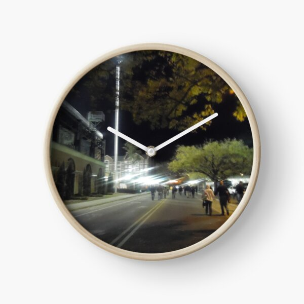 Hazy Nights  Clock