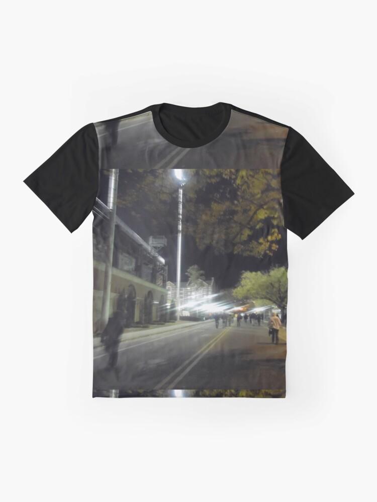 Alternate view of Hazy Nights  Graphic T-Shirt