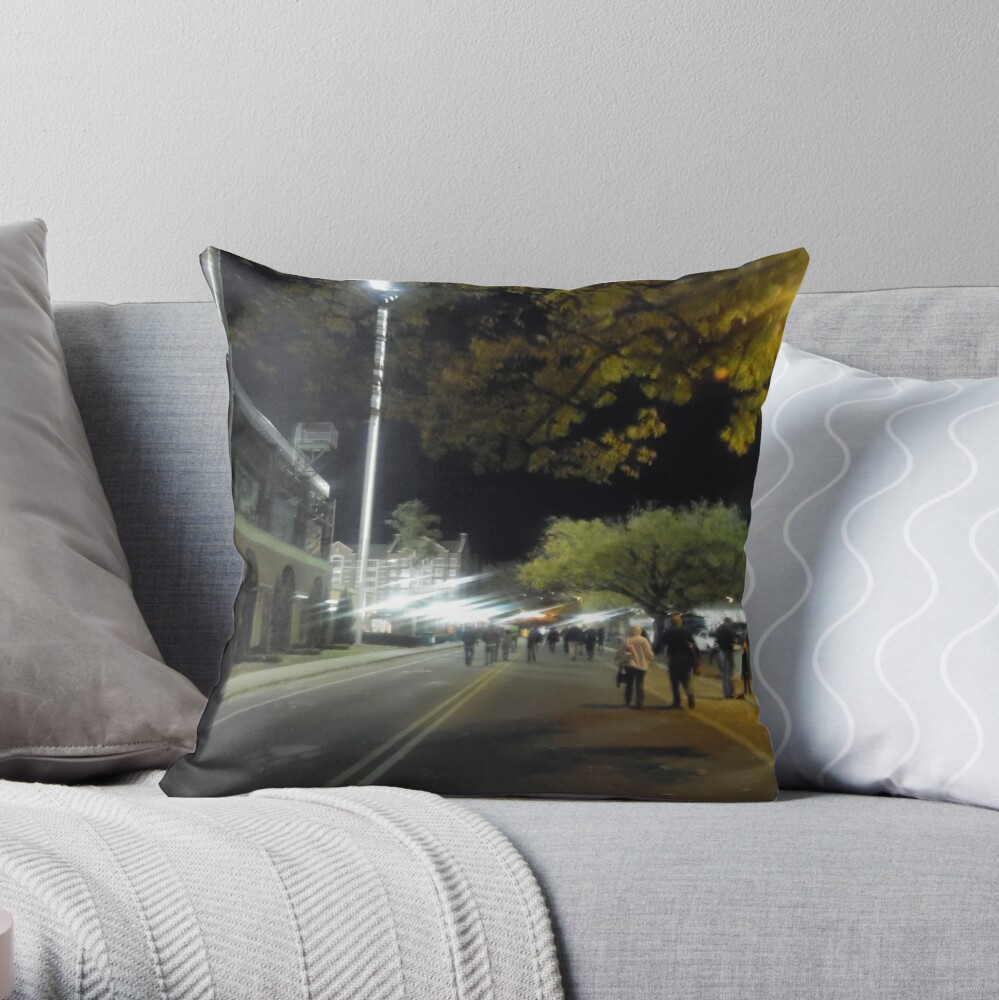 Hazy Nights  Throw Pillow