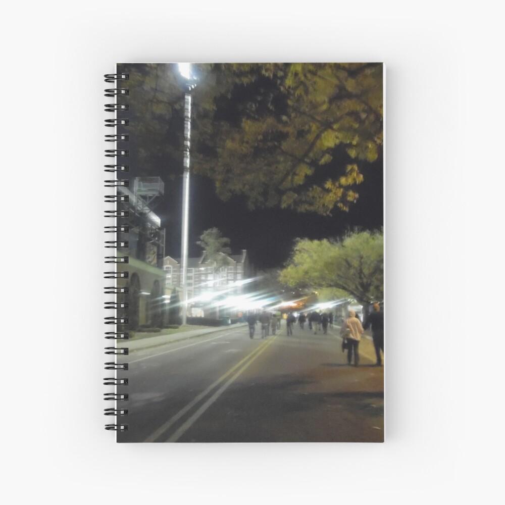 Hazy Nights  Spiral Notebook