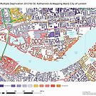 Multiple Deprivation St Katharine's & Wapping ward, City of London by ianturton