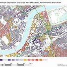 Multiple Deprivation St Mary's Park ward, Hammersmith & Fulham by ianturton