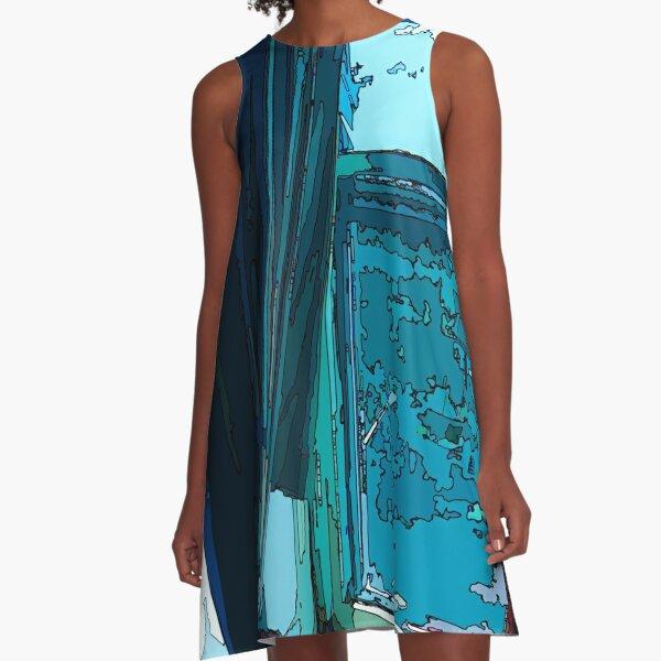 """Brooklyn Wonder"" A-Line Dress"