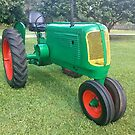 Antique Farm Tractor by Jason Pepe