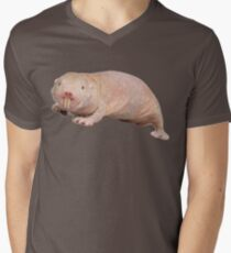 Naked mole rat Men's V-Neck T-Shirt
