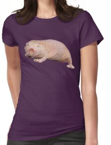 Naked mole rat Womens Fitted T-Shirt