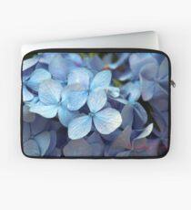 Blue Hydrangea (Hydrangea macrophylla) Laptop Sleeve