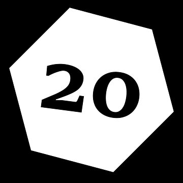 D20 - White by coolbruiser