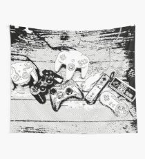 Collection de manettes - Joysticks collection Wall Tapestry
