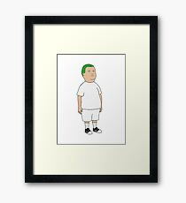Blond Bobby Framed Print