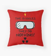 The Goggles [Roufxis - RB] Throw Pillow