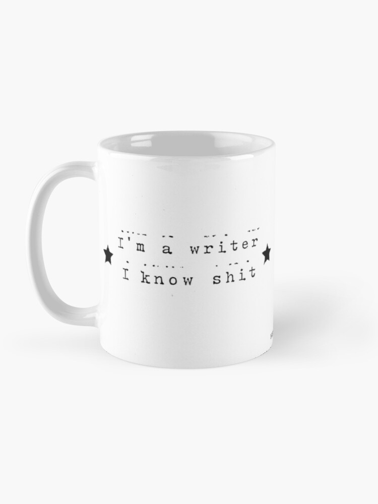 Alternate view of I'm a writer Mug